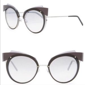 Marc Jacobs 66mm Mirror Round Sunglasses NWT
